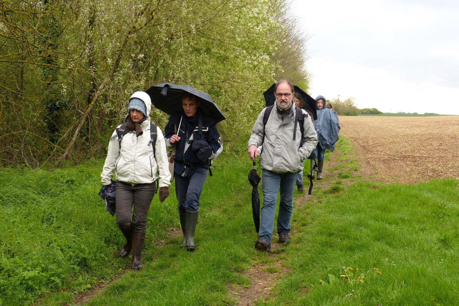 Le retour : 6 kms ça use les souliers :-) Copyright Dominique Leroy