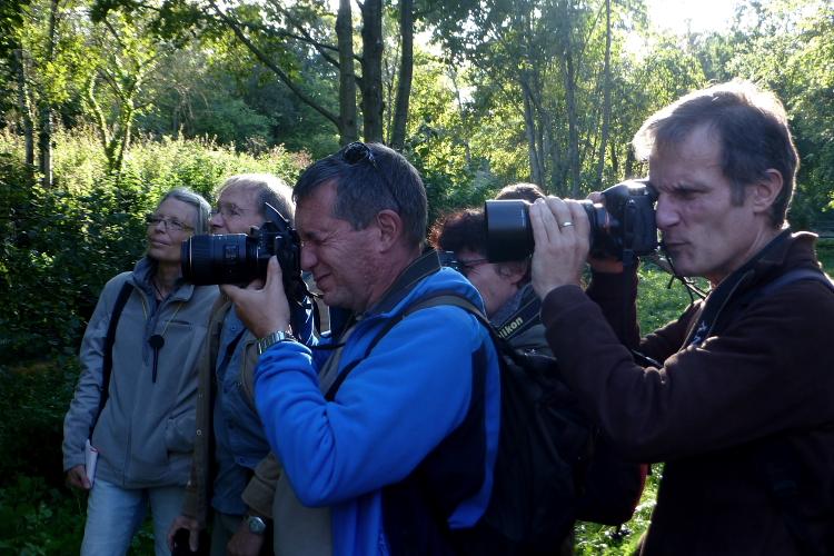 Les photographes en action ! Copyright Joël Liégard