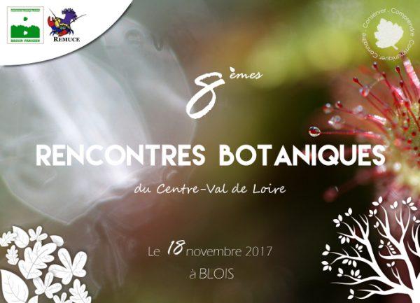 8èmes rencontres botaniques du Centre-Val de Loire en novembre 2017
